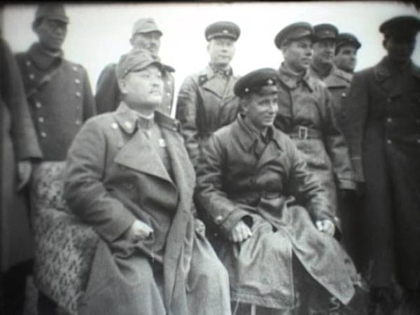 Халхин Гол советско японские переговоры исходный киноматериал