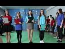 школа 48 г. Луганск 11-А,Б флешмоб 8 марта, мало половин - танец мальчиков 2018
