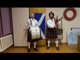 Foxheart - Scotland the Brave live in duo