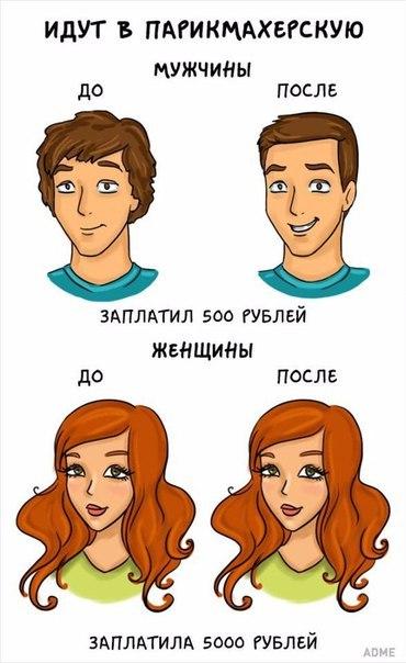 Разница между мужчиной и женщиной)