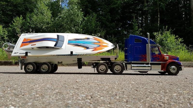 Очень крутой скоростной катер Aquacraft REVOLT 30 ... Тест на воде с ПВХ лодкой