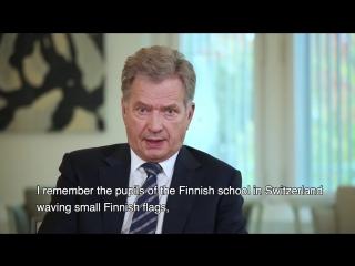 Greeting from President Niinistö