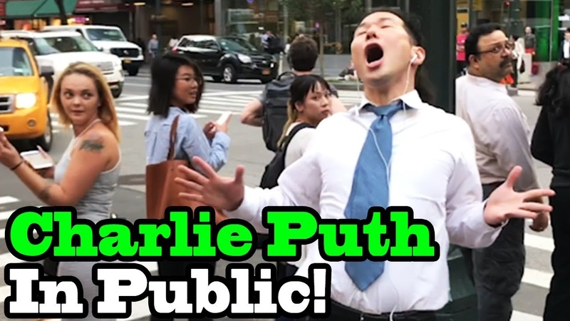 Charlie Puth How Long SINGING IN PUBLIC