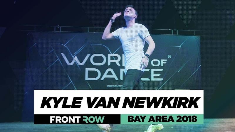 Kyle Van Newkirk | FrontRow | World of Dance Bay Area 2018 | WODBAY18 | Danceproject.info