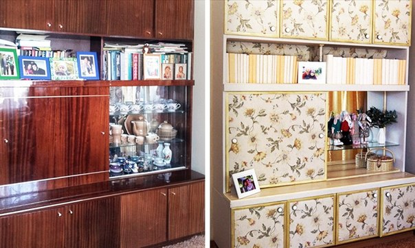 15 крутых идей по переделке старой мебели: ↪ Реально новая жизнь старых вещей.