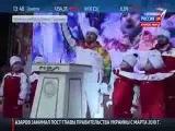 Рамзан Ахматович Кадыров с олимпийским огнем