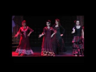 Отчетный концерт 02.06.2013 в Гигант-холле. Фламенко.