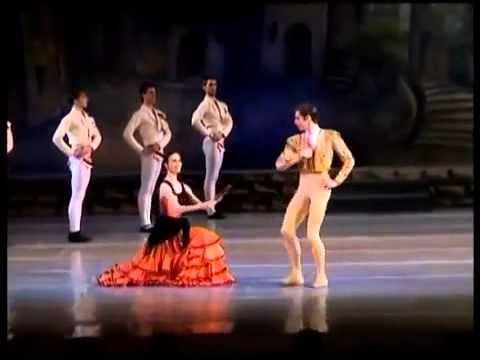 Испанский танец Болеро из балета Дон Кихот 【PK Funny】