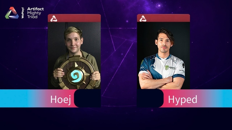 VOD: Hyped vs Hoej | Artifact Mighty Triad: Strength Invitational | WePlay! Final