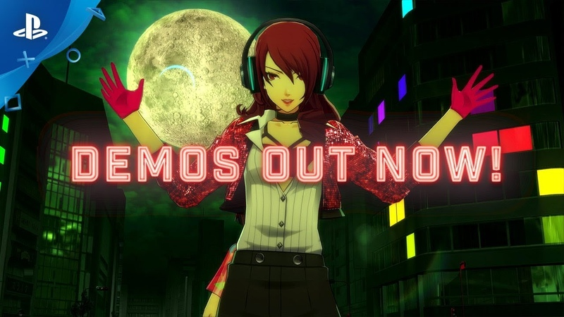 PS4\PSV - Persona 3: Dancing in Moonlight (Moon Night) Persona 5: Dancing in Starlight (Star Night)
