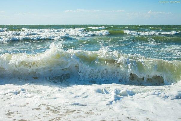 Крым.Азовское море.