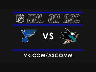 NHL   Blues VS Sharks