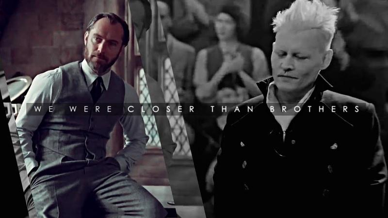 • Albus Dumbledore Gellert Grindelwald