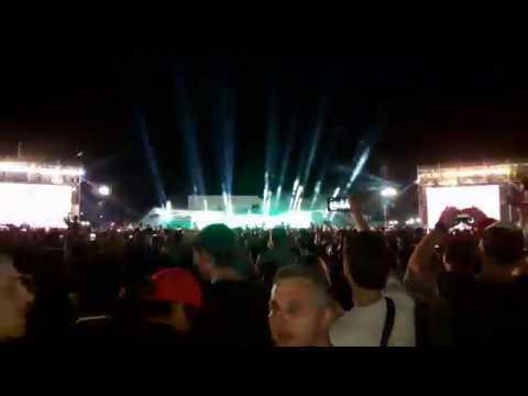 DJ Willy William начало выступления, на фестивале студвесна 2019 Ставрополь