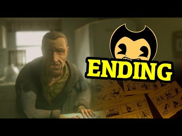 BENDY AND THE INK MACHINE CHAPTER 5 ENDING