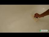 Реставрация ванны Жидким Акрилом, наливная технология