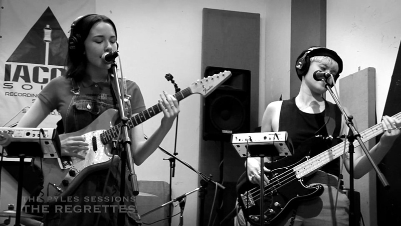 The Regrettes - Seashore (live for The Pyles Sessions)