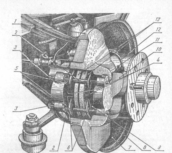 7— тормозной диск;