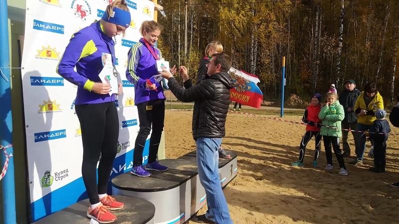 Легкоатлетический кросс в Электростали «Царь горы» 2018