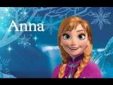 Холодное сердце Макияж для Анны / Frozen makeup for Anna