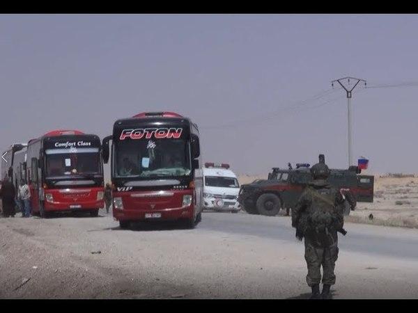 Battles for Syria   April 20th 2018   Jihadists leaving eastern Qalamoun region. Опубликовано: 20 апр. 2018 г.