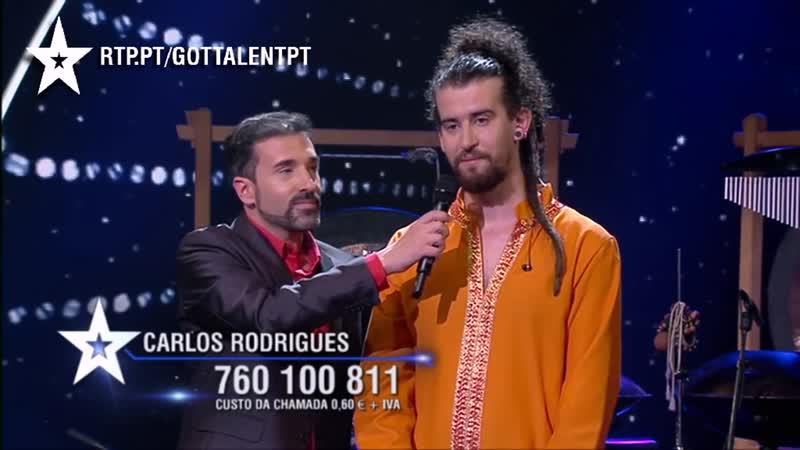 Kabeção - @ Portugal Got Talent 2015 [Gala 08]