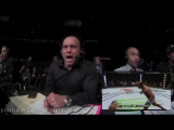 TOP Corner and Audience Reactions in UFC MMA