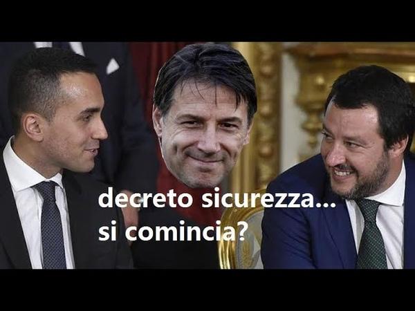 """APPROVATO DECRETO SALVINI SU SICUREZZA E MIGRANTI: """"Matteo Salvini soddisfatto:"""
