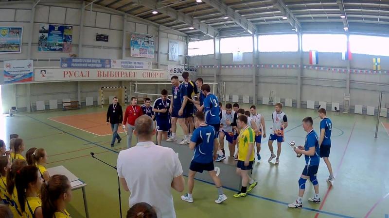 Чемпионат города, волейбол, мужчины, 2017-18. Награждение.