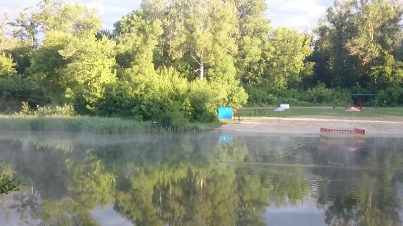 Курск . Река Тускарь .