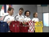 Cristiano Ronaldo Casillas Benzema Modric have presented Jerseys National Team