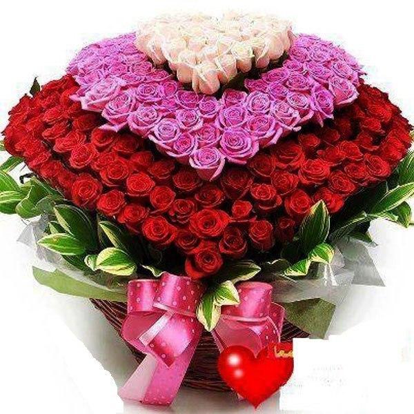 Красивый букет цветы 179