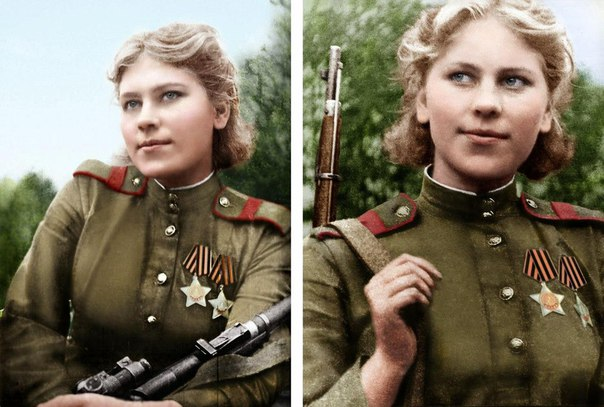 Роза Шанина: невидимый ужас Восточной Пруссии.
