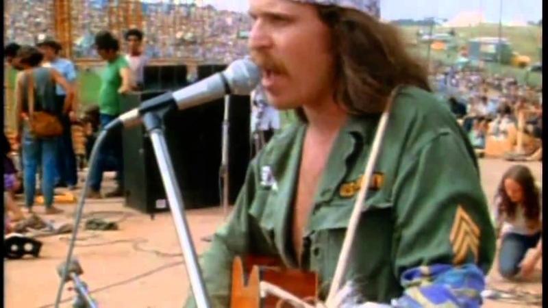 Country Joe Mcdonald - Feel Like i'm Fixing to Die Rag - Woodstock '69