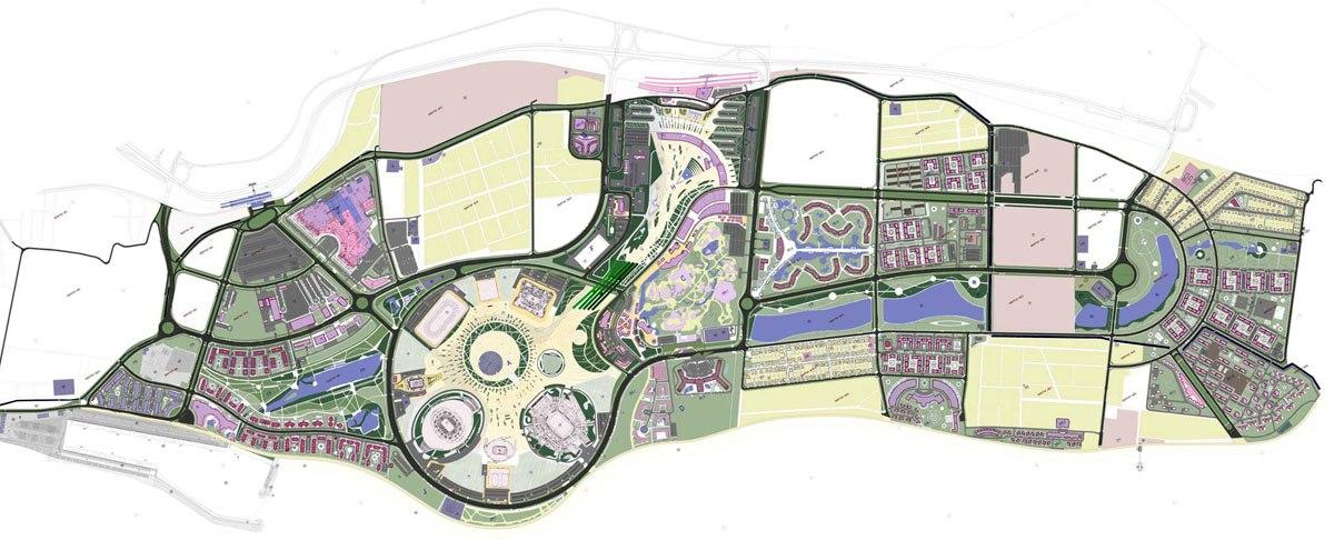 Олимпийский парк, где и будет