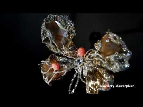 Cindy Chao High Jewellery collection presented at Biennale des Antiquaires 2016 in Paris
