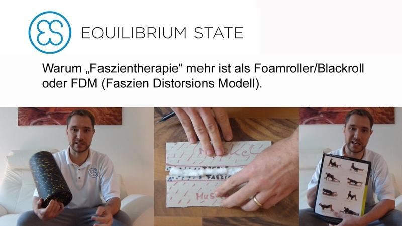 Warum Faszientherapie mehr ist als Foamroller/Blackroll und FDM (Faszien Distorsions Modell)