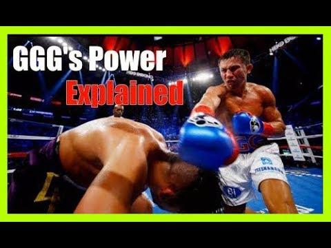 GGG's Knockout Power Explained - Technique Breakdown Golovkin vs Canelo