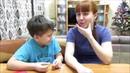 Пробуем вкусняшки с мамой Мама свернула челюсть семьятрофимовых