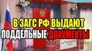 ЗАГС РФ выдает гражданам СССР поддельные свидетельства о рождении 14 10 2018