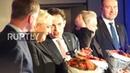 Belgium: Le Pen, Bannon speak out against UN migration pact in Brussels