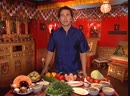 Телекафе. Кухни мира. Бирманская. Салат по рецепту бирманских монахов, Филе окуня по-рыбачьи, Овощное рагу по-бирмански