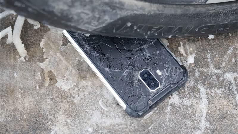 ЗВЕРЬЕ Выжил ли телефон после наезда Авто