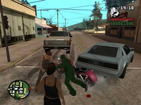 прохождение игры GTA San Andreas 31 миссия король в изгнании местный алкогольный магазин