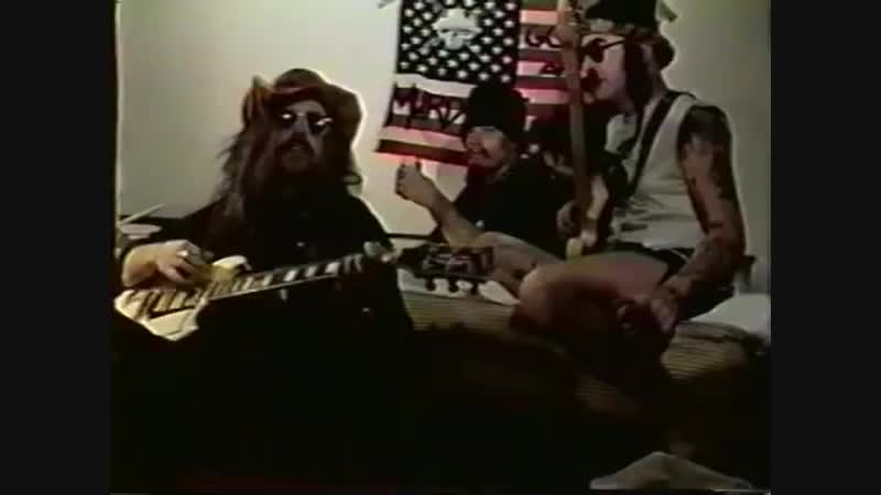 GG Allin's epic freestyle