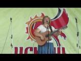 Юлия Левашова на фестивале Исконь
