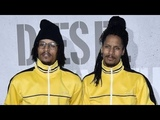 Officials Les Twins Instagram LIVE at Diesel Fragrance Only The Brave Street Party END