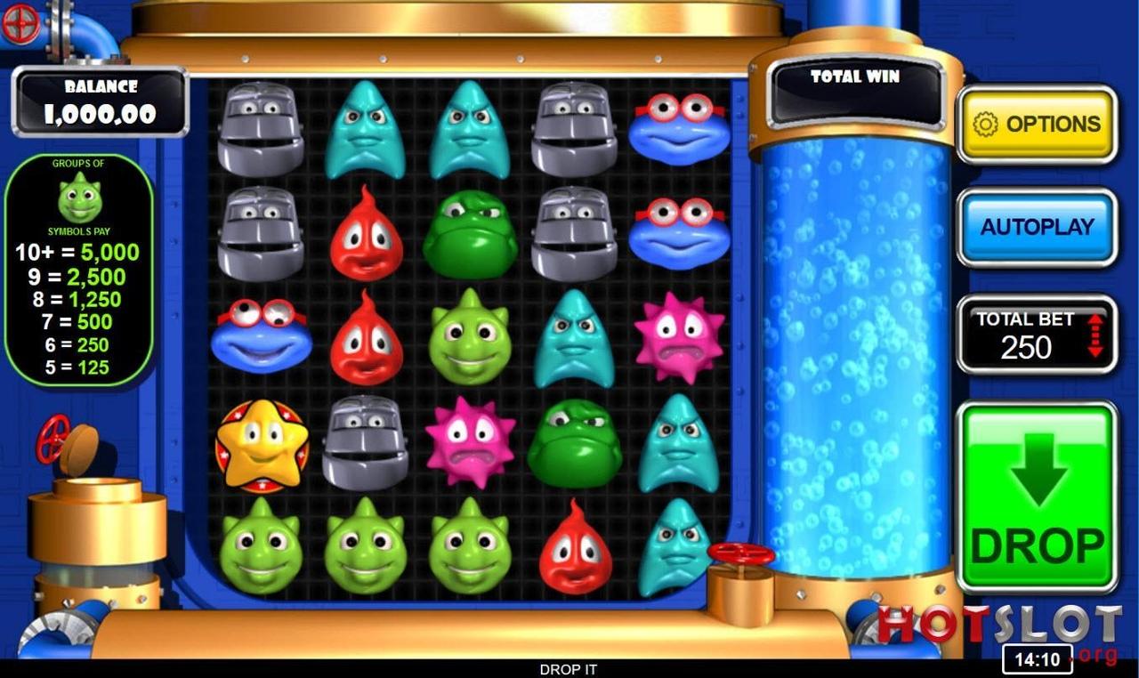Вулкан: Игровые автоматы Брось это! (Drop It!)