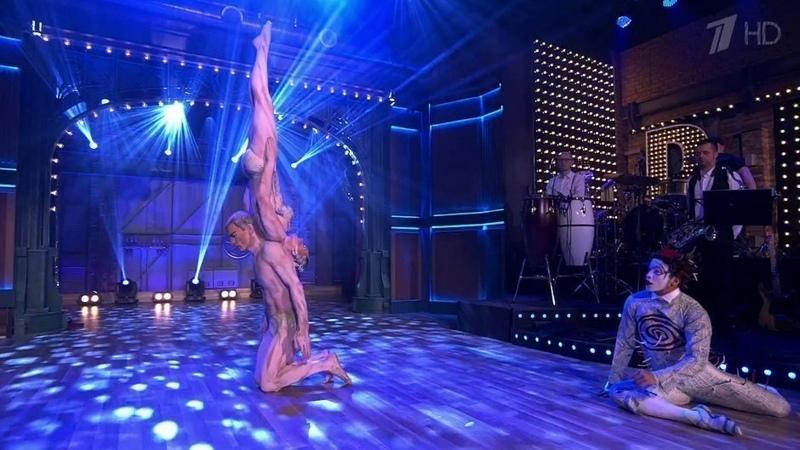 Cirque du Soleil. Вечерний Ургант. Фрагмент выпуска от27.03.2015