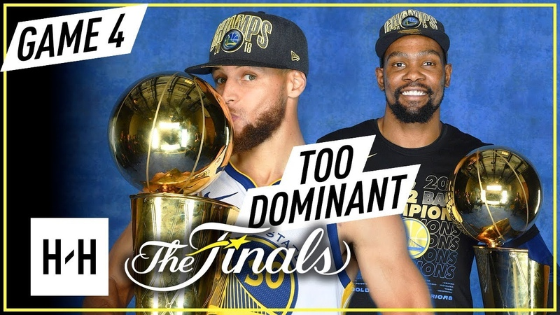 Stephen Curry Kevin Durant Full Game 4 Highlights vs Cavaliers 2018 NBA Finals CHAMPIONS